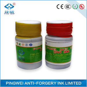 yellow green to blue optical variable ink for gravure printing