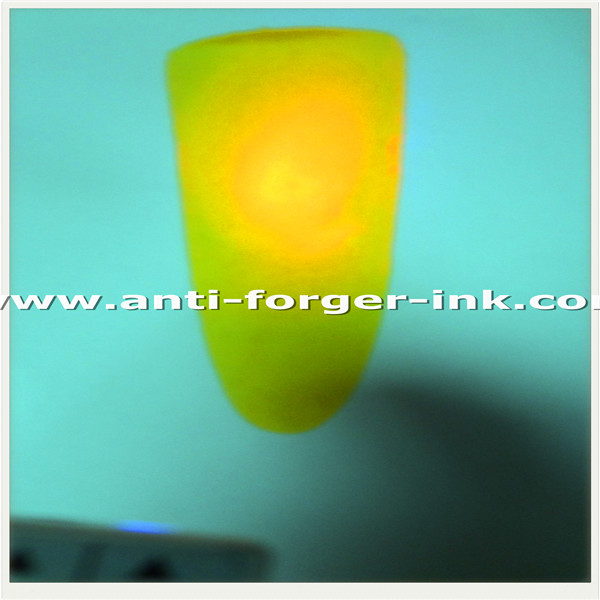 Green to red UV Fluorescent Ink for special screen printing