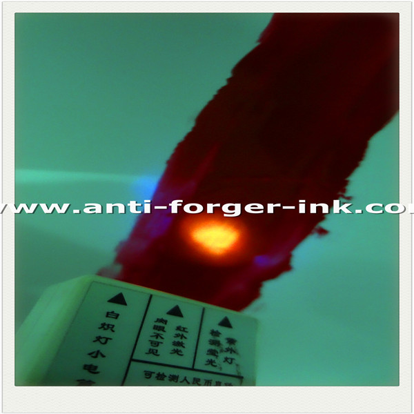 Black to red UV Fluorescent Ink for water screen printing