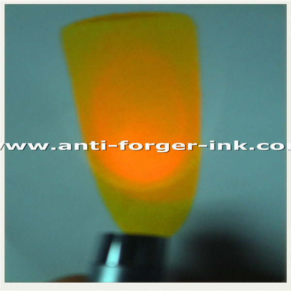 Orange to orange UV Fluorescent Ink for water screen printing